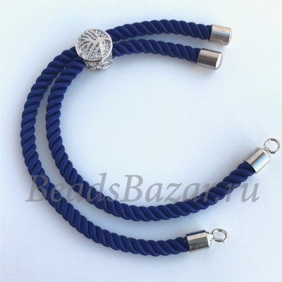 Основа для браслета синяя