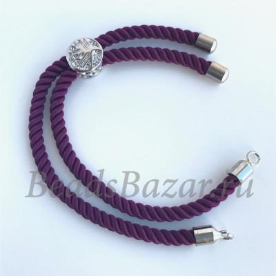 Основа для браслета фиолетовая
