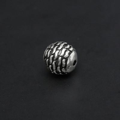Бусина 7,5 мм серебро 925 пр.