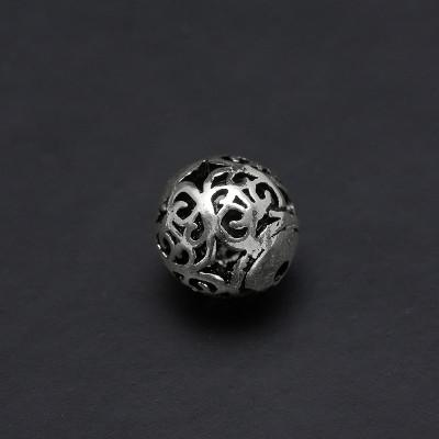 Бусина 8 мм серебро 925 пр.