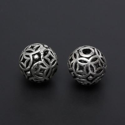 Бусина 10 мм серебро 925 пр.
