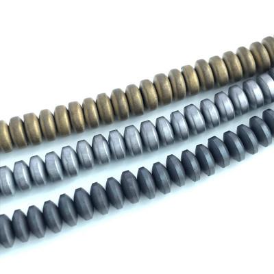 Гематит диск 4,5 мм матовый