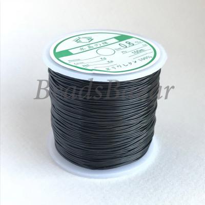 Нить силиконовая черная