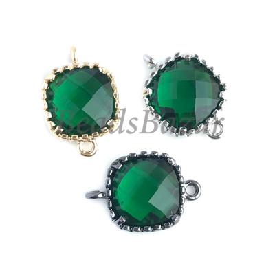 Коннектор квадрат зеленый