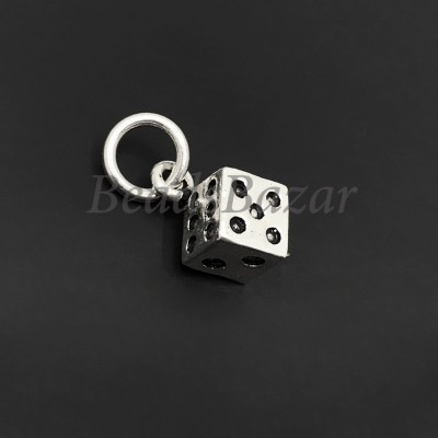 Подвеска серебро 925 пр.  кубик