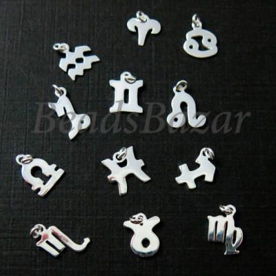 Подвеска знак зодиака серебро 925 пр.