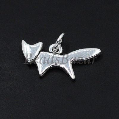 Подвеска лиса серебро 925 пр.