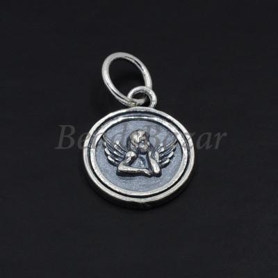 Подвеска серебро 925 пр. ангел