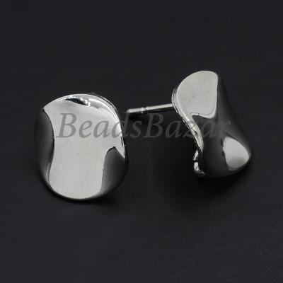 Швензы пуссеты 13 мм, серебро