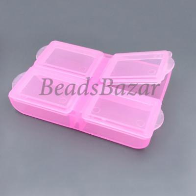 Контейнер пластик Т-34 розовый
