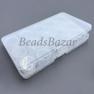 Коробка пластик ОМ-042-110 прозрачный