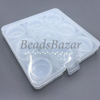 Коробка пластик ОМ-086-057 прозрачный