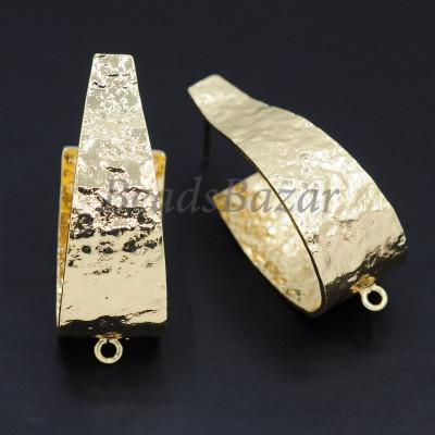 Швензы пуссеты 12*31мм, золото