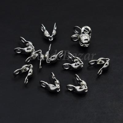 Каллоты, серебро (10 шт.)