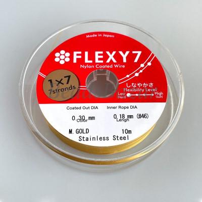 Тросик Flexy 7, золото