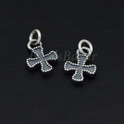 Подвеска крест серебро 925 пр.