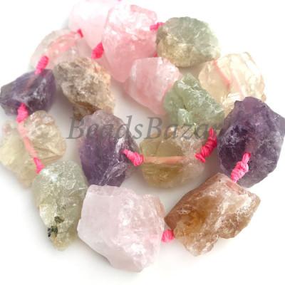 Микс необработанных камней
