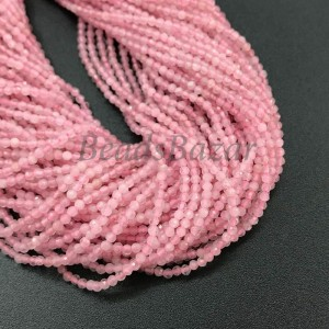 Розовый кварц мадагаскарский огранка