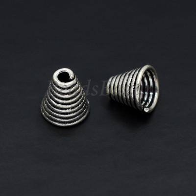 Шапочка серебро 925 пр. 7 мм