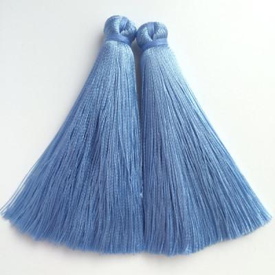 Кисточка серо-голубая