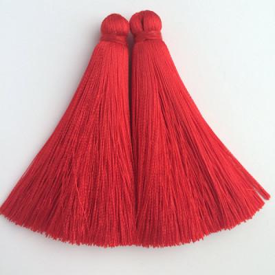 Кисточка красная